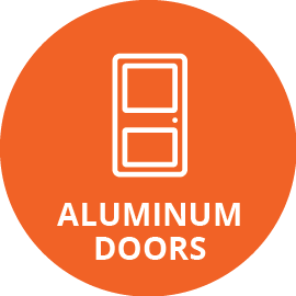 aluminum doors icon
