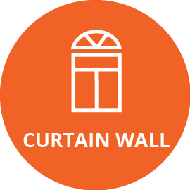 curtain wall icon